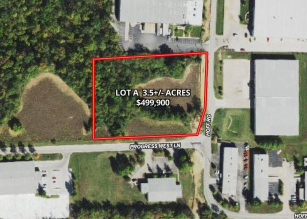 3.5+/- Acres Hoff Road Lot A, O'Fallon, MO 63366